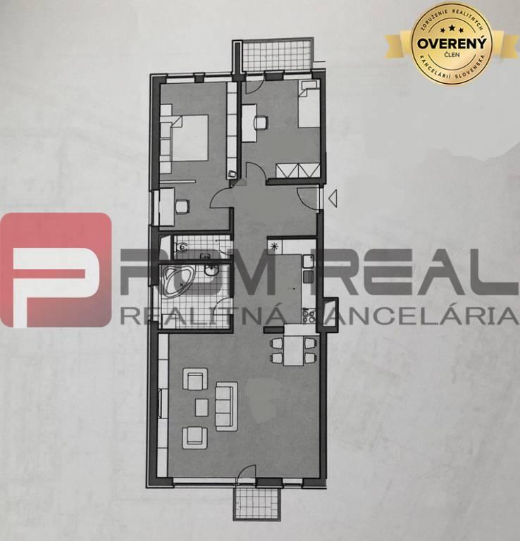 3 izbový byt pre najnáročnejších vo výbornej lokalite Letná Residence