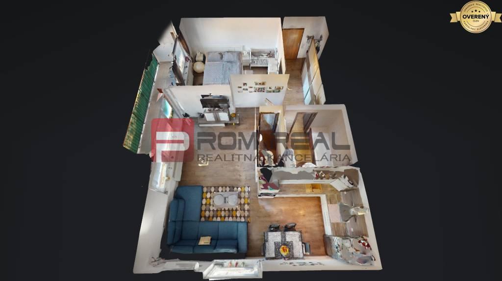 2-izbový byt-Predaj-Slovenský Grob-123000.00 €