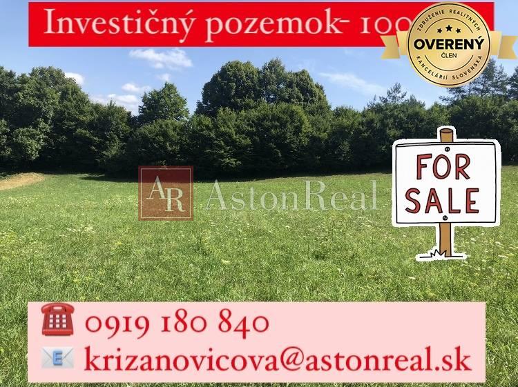 Pozemok pre RD-Predaj-Púchov-35 000 €